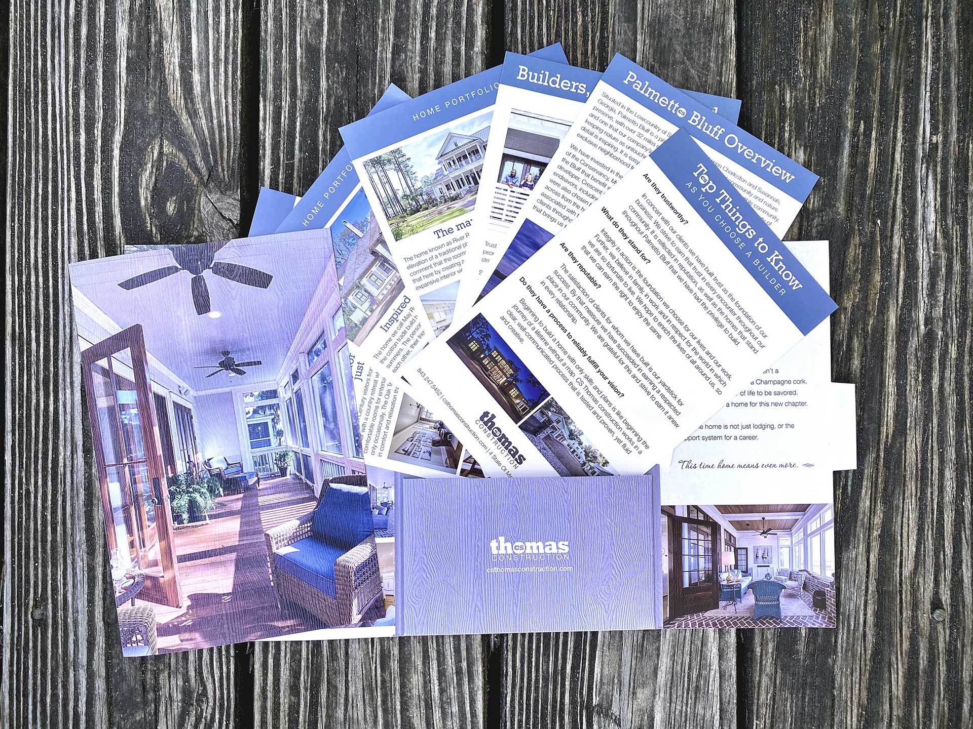 cs thomas construction brochure