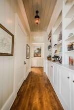 custom hallway built-ins