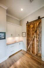 kitchen barn door