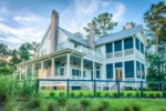 Two-story house with wraparound porch