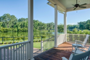 Back porch with Ipe decking