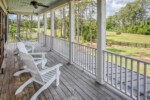 Second floor porch with Ipe decking